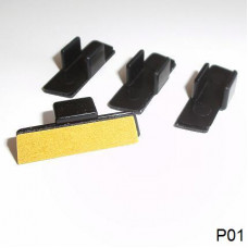 Sonnenschutz Blenden Klebeclip Typ P01 (4 Stk.)