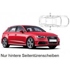 Sonnenschutz Blenden für Audi A3 Typ 8V Sportback 2012-2020 nur hintere Seitentürenscheiben