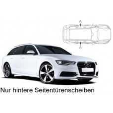 Sonnenschutz Blenden für Audi A6 Avant C7 2011-2018 nur hintere Seitentürenscheiben
