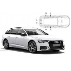 Sonnenschutz Blenden für Audi A6 Avant C8 2018-