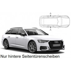 Sonnenschutz Blenden für Audi A6 Avant C8 2018- nur hintere Seitentürenscheiben