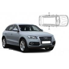 Sonnenschutz Blenden für Audi Q5 (Type 8R) 2008-2017 nur Seitentüren