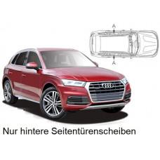 Sonnenschutz Blenden für Audi Q5 (Typ FY) 2017- nur hintere Seitentürenscheiben