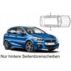 Sonnenschutz Blenden für BMW 2er Active Tourer F45 2014- nur hintere Seitentürenscheiben