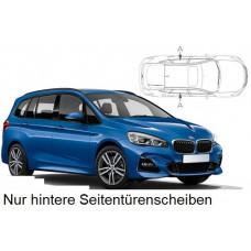 Sonnenschutz Blenden für BMW 2er Gran Tourer F46 2014- nur hintere Seitentürenscheiben