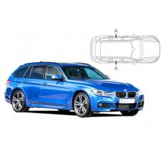 Sonnenschutz Blenden für BMW 3er F31 Touring 2012-2019 nur hintere Seitentüren