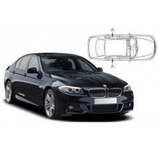 Sonnenschutz Blenden für BMW 5er F10 4 Türen 2010-2017 nur hintere Seitentüren