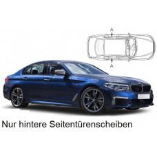 Sonnenschutz Blenden für BMW 5er G30 4 Türen 2017- nur hintere Seitentürenscheiben