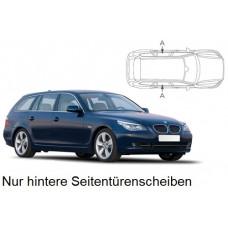 Sonnenschutz Blenden für BMW 5er E61 Touring 2004-2010 nur hintere Seitentürenscheiben