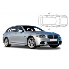 Sonnenschutz Blenden für BMW 5er F11 Touring 2010-2017 nur hintere Seitentürenscheiben