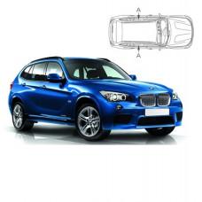 Sonnenschutz Blenden für BMW X1 E84 5 Türen 2010-2015 nur hintere Seitentürenscheiben