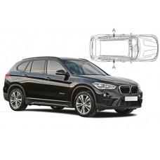 Sonnenschutz Blenden für BMW X1 F48 5 Türen 2015- nur hintere Seitentürenscheiben