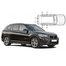 Sonnenschutz Blenden für BMW X1 F48 5 Türen 2015-
