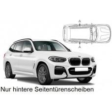 Sonnenschutz Blenden für BMW X3 G01 2018- nur hintere Seitentürenscheiben