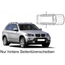 Sonnenschutz Blenden für BMW X5 E70 5 Türen 2006-2013 nur hintere Seitentürenscheiben