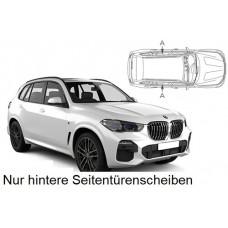 Sonnenschutz Blenden für BMW X5 G05 2018- nur hintere Seitentürenscheiben
