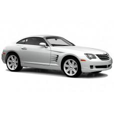 Sonnenschutz Blenden für Chrysler Crossfire 2 Türen 2004-2008