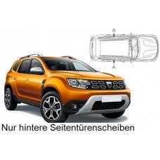 Sonnenschutz Blenden für Dacia Duster 2018- nur hintere Seitentürenscheiben