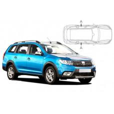 Sonnenschutz Blenden für Dacia Logan II MCV 5 Türen 2013-2020 nur Seitentüren