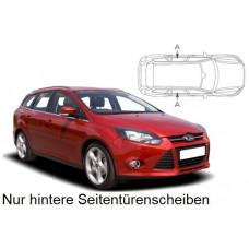 Sonnenschutz Blenden für Ford Focus Kombi 2011-2018 nur hintere Seitentürenscheiben