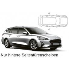 Sonnenschutz Blenden für Ford Focus Kombi 2018- nur hintere Seitentürenscheiben