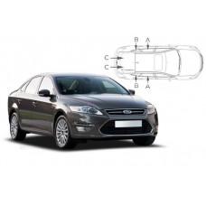 Sonnenschutz Blenden für Ford Mondeo 5 Türen 2007-2014