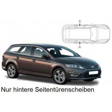 Sonnenschutz Blenden für Ford Mondeo Kombi 2007-2014 nur hintere Seitentürenscheiben