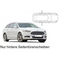 Sonnenschutz Blenden für Ford Mondeo Kombi 2015- nur hintere Seitentürenscheiben