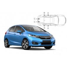 Sonnenschutz Blenden für Honda Jazz 5 Türen 2014-2020
