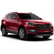 Sonnenschutz Blenden für Hyundai Santa Fe Typ DM 2012-2018