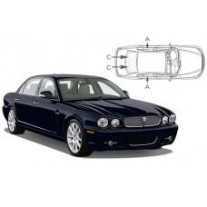 Sonnenschutz Blenden für Jaguar XJ 4 Türen X350 2003-2009