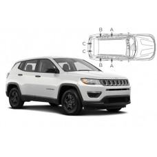 Sonnenschutz Blenden für Jeep Compass 5 Türen 2018-