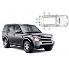 Sonnenschutz Blenden für Land Rover Discovery 4 - 5 Türen 2009-