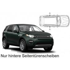 Sonnenschutz Blenden für Land Rover Discovery Sport L550 - 5 Türen 2014-2020 nur hintere Seitentürenscheiben