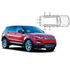 Sonnenschutz Blenden für Land Rover Range Rover Evoque SUV 5 Türen 2011-2018