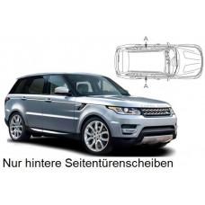 Sonnenschutz Blenden für Land Rover Range Rover Sport (L494) 5 Türen 2013- nur hintere Seitentürenscheiben