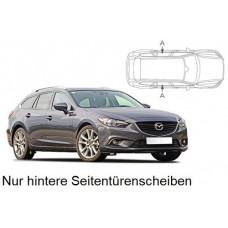 Sonnenschutz Blenden für Mazda 6 Kombi 2012- nur hintere Seitentürenscheiben