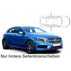Sonnenschutz Blenden für Mercedes-Benz A-Klasse W176 5 Türen 2012-2018 nur hintere Seitentürenscheiben