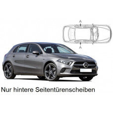 Sonnenschutz Blenden für Mercedes-Benz A-Klasse W177 5 Türen 2019- nur hintere Seitentürenscheiben
