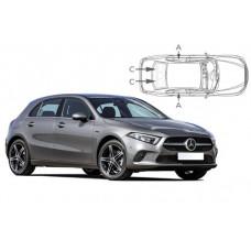 Sonnenschutz Blenden für Mercedes-Benz A-Klasse W177 5 Türen 2019-