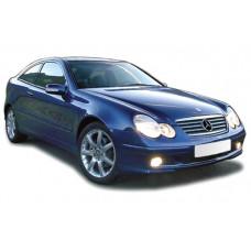 Sonnenschutz Blenden für Mercedes-Benz C-Klasse CL203 3 Türen 2001-2007