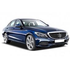 Sonnenschutz Blenden für Mercedes-Benz C-Klasse W205 4 Türen 2014-