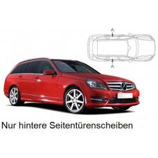 Sonnenschutz Blenden für Mercedes-Benz C-Klasse S204 Kombi 2007-2014 nur hintere Seitentürenscheiben