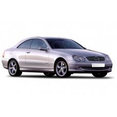 Sonnenschutz Blenden für Mercedes-Benz CLK C209 2 Türen 2002-2009