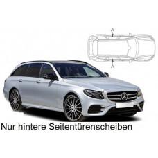 Sonnenschutz Blenden für Mercedes-Benz E-Klasse S213 Kombi 2016- nur hintere Seitentürenscheiben