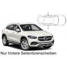 Sonnenschutz Blenden für Mercedes-Benz GLA (H247) 5 Türen 2020- nur hintere Seitentürenscheiben
