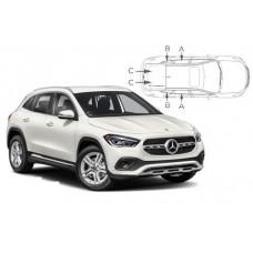 Sonnenschutz Blenden für Mercedes-Benz GLA (H247) 5 Türen 2020-