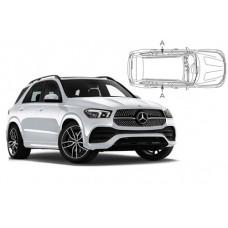Sonnenschutz Blenden für Mercedes-Benz GLE V167 2019- nur hintere Seitentürenscheiben