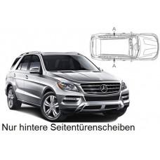 Sonnenschutz Blenden für Mercedes-Benz ML M-Klasse & GLE W166 5 Türen 2012-2019 nur hintere Seitentürenscheiben