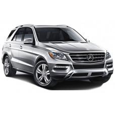 Sonnenschutz Blenden für Mercedes-Benz ML M-Klasse & GLE  W166 5 Türen 2012-2019